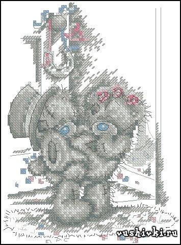 Схема вышивки в форматe xsd