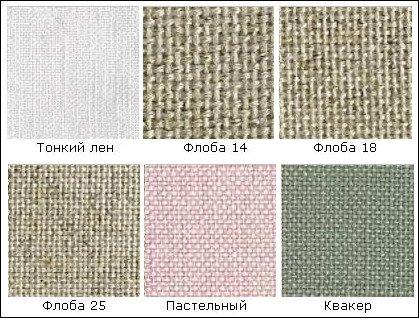 Ткани для вышивки— обзор, информация, обсуждение.