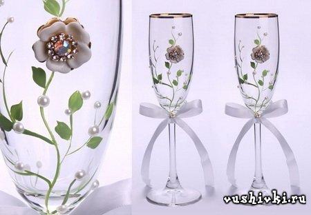 Свадебные бокалы – приятный и