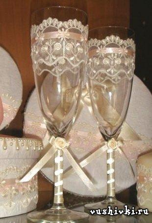 Как можно украсить свадебные