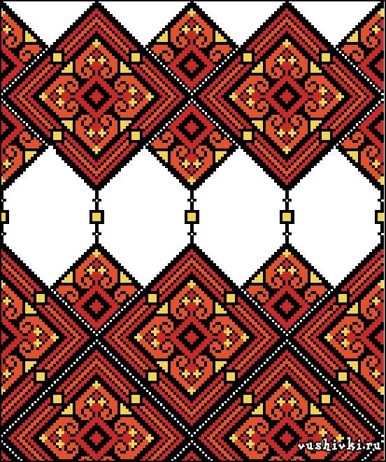 Вышивка крестом украинские