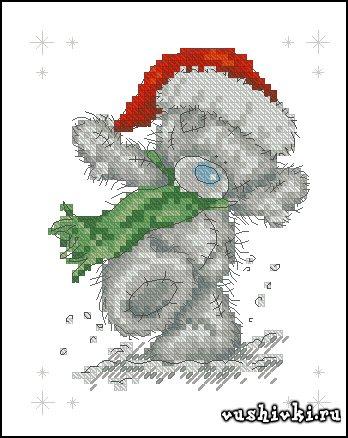 Мишки Тедди - Рождество