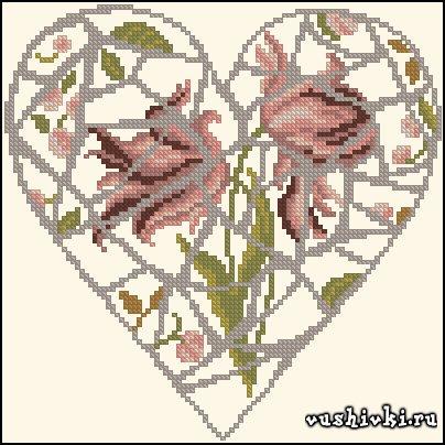Сердечко - Мозаика