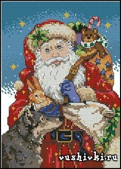 Дед мороз и зверята