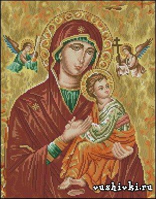 Икона Богородицы (Icono Theotokos - Cuadros)