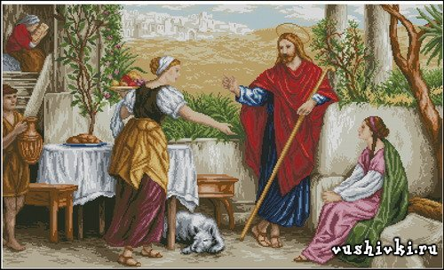 Скачать схемы вышивки крестом иисуса