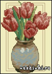 Red Tulips (Dimensions)