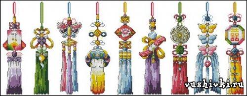 Китайские узлы (SODA SO-G19 Chinese Knots)