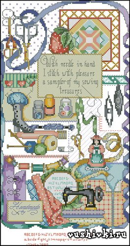 Kooler Design Studio Stitcher's Sampler