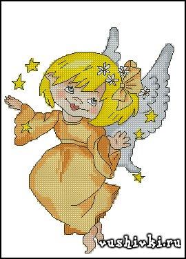 Оранжевый ангелочек (Татьяна Марчукова)