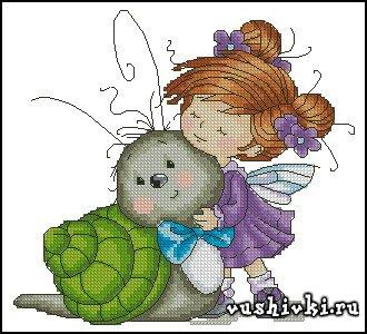 My friend - a snail (Татьяна Марчукова)