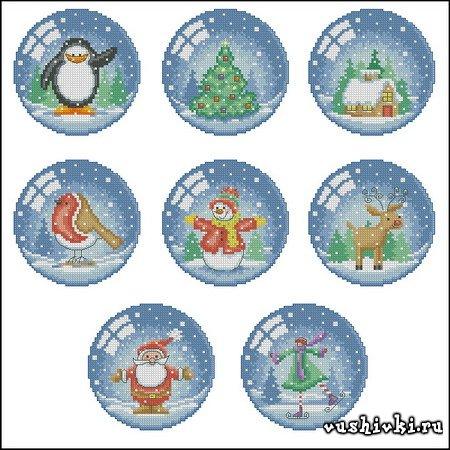 Ёлочные игрушки (Snow globe