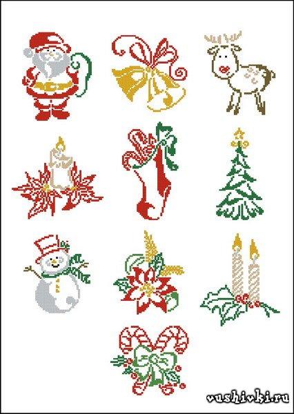Christmas motifs (Татьяна