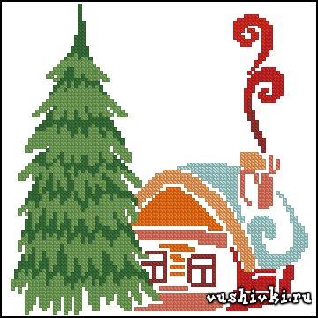 Small winter house (Татьяна Марчукова)