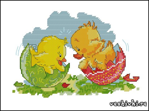 Easter chick and duckling (Татьяна Марчукова)
