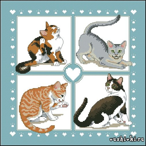 Feline Foursome (Dimensions)