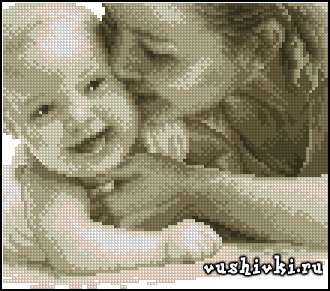 Cuddling Baby (Vervaco)