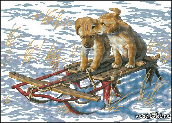 Sled Dogs (Dimensions)