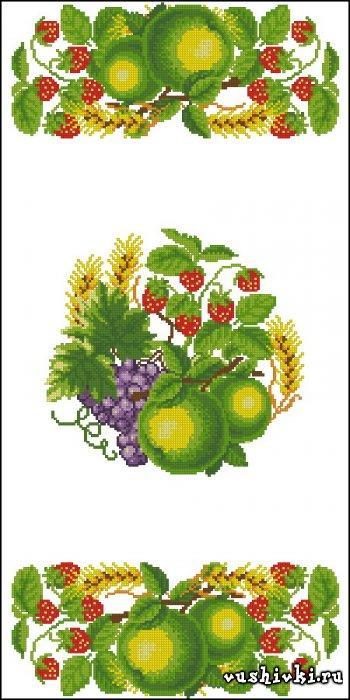 Вышивки фрукты скачать схемы бесплатно