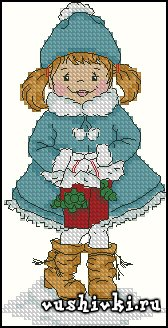 Девочка снегурка (Tinker Bell)