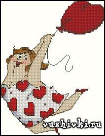 Дама на шаре (Tinker Bell)
