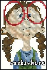 Девчушка в очках (Tinker Bell)