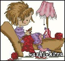 Вязальщица (Tinker Bell)
