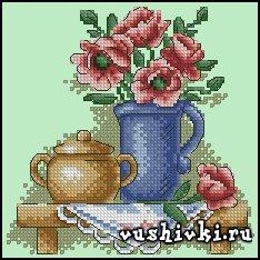 Цветы в кувшине (Panna)