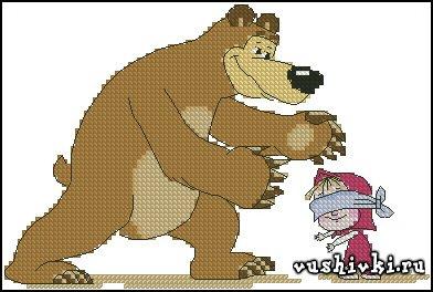 Маша и медведь. Жмурки - Манаенкова Наталия (Natasha4000)